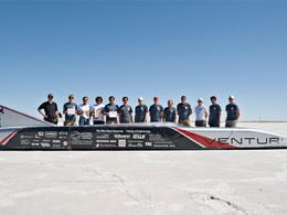Venturi vers un nouveau record du monde de vitesse en électrique