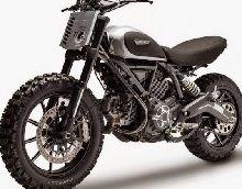 Concept - Ducati: une Scrambler dirt track venue de Thaïlande