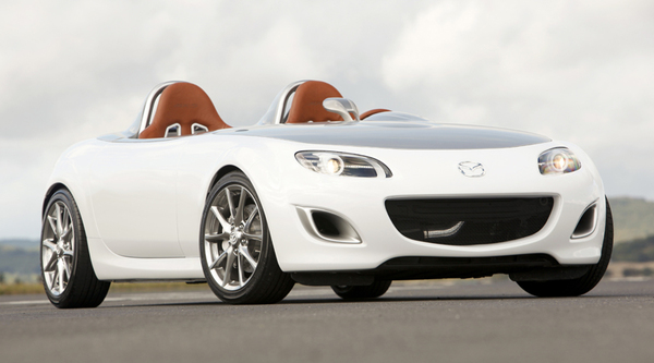 Francfort 2009 : le sourire de la Mazda MX-5 Superlight Concept