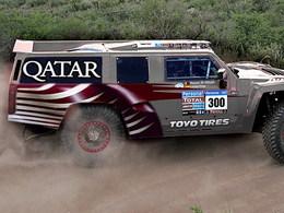 Dakar 2012 : Al-Attiyah défendra son titre sur un Hummer !