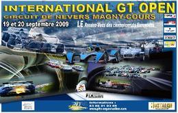 Rendez-vous : International GT Open à Magny Cours les 18,19,20 sept.