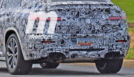 BMW : le futur X4 M montre les muscles