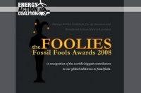 The Foolies Fossil Fools Awards 2008/Etats-Unis : les Prix des idiots de l'énergie fossile le 1er avril !