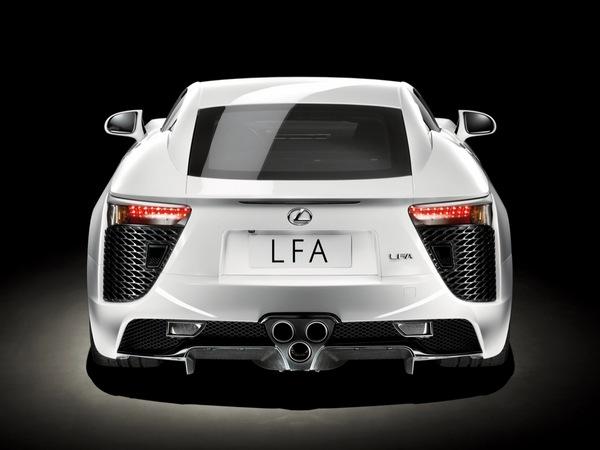 Lexus prévoit une suite pour la LFA