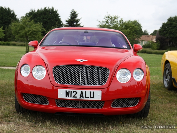 Photos du jour : Bentley Continental GT (Le Mans)