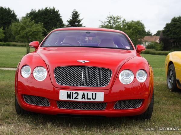 Photos du jour : Bentley Continental GT (Le Mans)