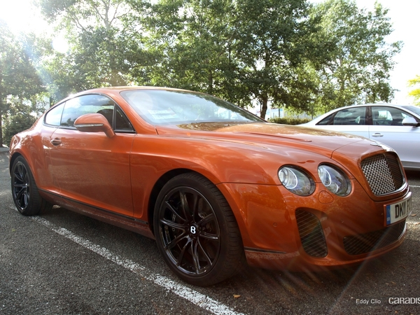 Photos du jour : Bentley Continental GT Speed (Le Mans)