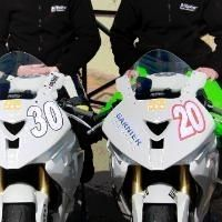 Superbike - Stock 1 000: Le team Garnier a fait rouler ses BMW