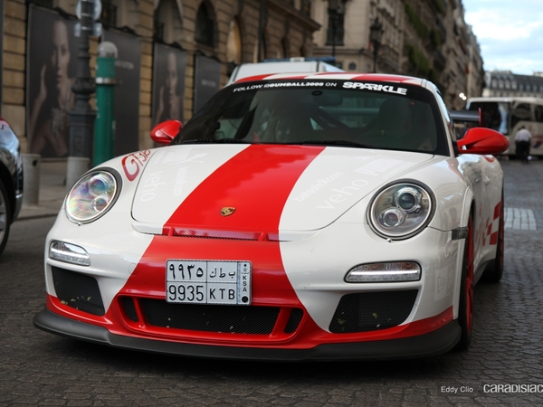 Photos du jour : Porsche 911 997 GT3 RS phase 2 (Gumball)