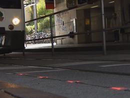 Allemagne : des feux pour piétons installés au sol