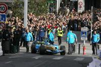 Heikki Kovalainen fait le spectacle à Clermont-Ferrand