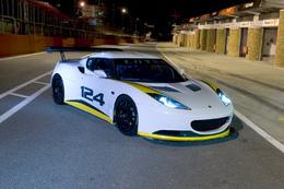 Lotus Evora Type 124 Endurance Racecar : prononcez Oine Tueinty faure