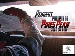 Peugeot retourne à Pikes Peak avec Loeb