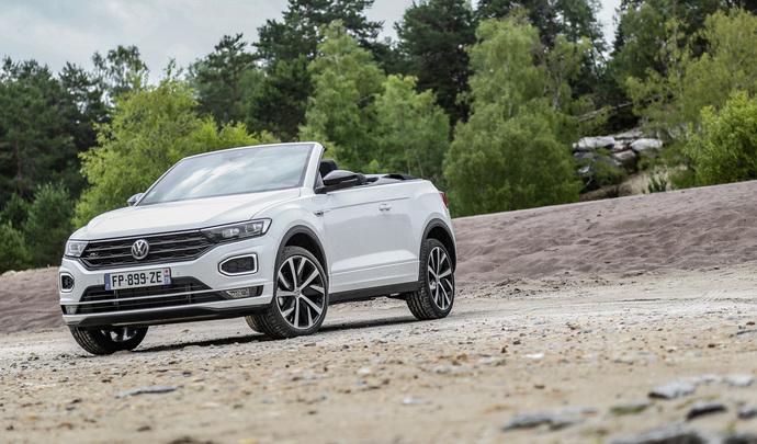 Volkswagen T-Roc Cabriolet (2020) : la tête dans les nuages