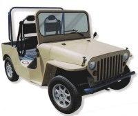 SCVE/TENDER electric car : la Scarlette, une Jeep 100 % électrique
