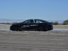 """Saleen Foursixteen: une """"super"""" Tesla Model S en teasing"""