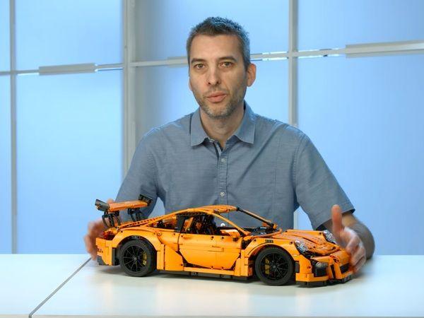 Fabriquez votre Porsche 911 991 GT3 RS Lego Technic pour 299 €