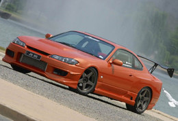 Nissan 200 SX : attention dragster