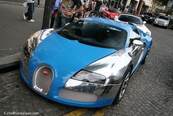 Photos du jour : Bugatti Veyron Centenaire