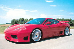 Ferrari F360 F1 Supersport Novitec :   606 ch - 344 km/h