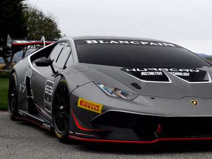 La Lamborghini Huracan Super Trofeo en avance