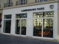 Ouverture d'un showroom Lamborghini à Paris