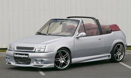 Peugeot 205 CTI Kustomorphose :   la métamorphose