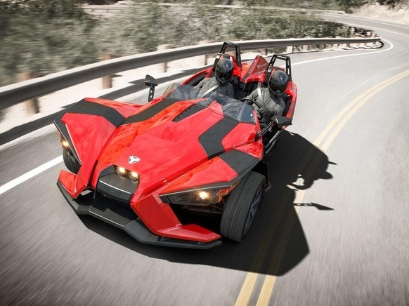 Nouveau Polaris Slingshot: en attente d'homologation en Europe