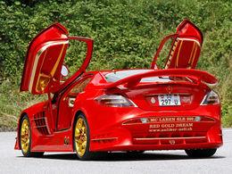 Mercedes SLR Red Gold Dream : ce bijou est à vous contre 11 millions de $