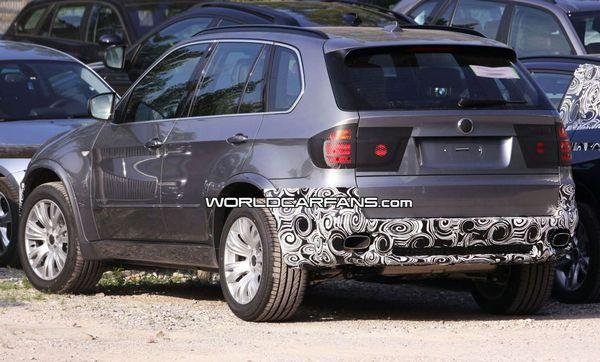 Restylage à venir pour le BMW X5
