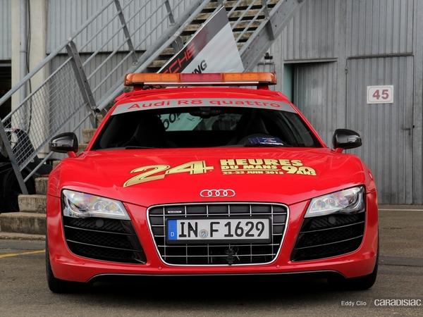 Photos du jour : Audi R8 V10 Pace Car du Mans