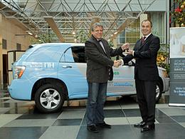 Une Opel Hydrogen4 pour un hôtel de Berlin