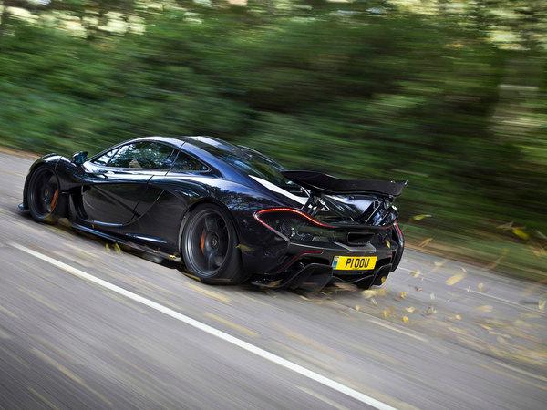 McLaren P1 Spyder : pour l'instant, c'est non