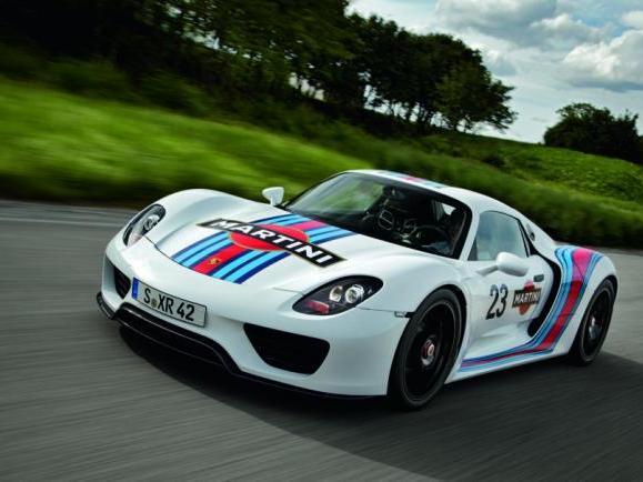 La Porsche 918 Spyder va monter en puissance jusqu'à 875 ch!