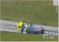 La gendarmerie en action.. encore une Subaru dans le rail !!!