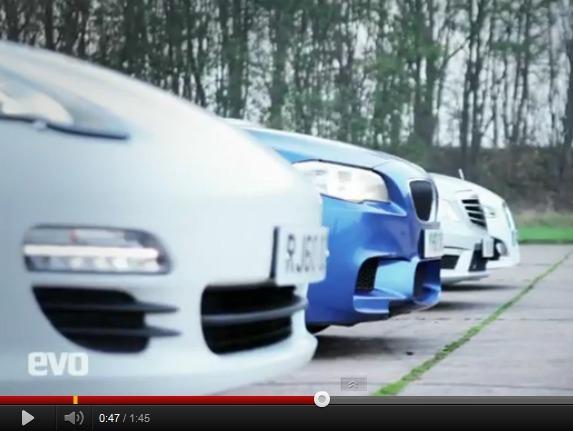 BMW M5 vs Porsche Panamera S vs Mercedes E63 AMG vs Jaguar XFR : qui l'emporte sur un 1000 m DA ?