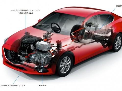 Des Mazda hybrides Diesel à partir de 2016
