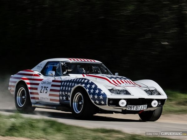 Photos du jour : Chevrolet Corvette C3 1972 (Tour Auto)