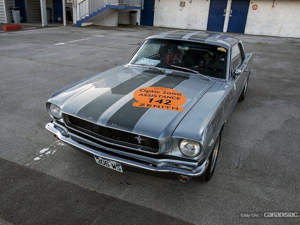 Photos du jour : Ford Mustang GT (Tour Auto)