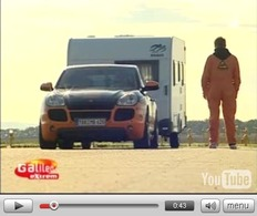 [Video] Vmax en tractant une caravane : record battu par le Cayenne Edo Competition de 620ch