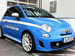 Abarth 500 Polizia : brigade urbaine rapide italienne