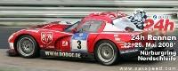 Bouchut aux 24 Heures du Nürburgring sur une Viper