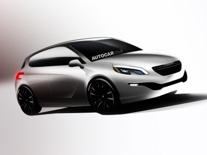 Prochaine Peugeot 308: plutôt comme ça?