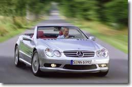 Mercedes SL 55 AMG : tonnerre   mécanique