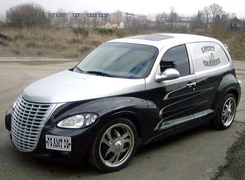 chrysler pt cruiser california colors the american way. Black Bedroom Furniture Sets. Home Design Ideas