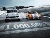 Porsche : 1000.000 fans Facebook et une vidéo