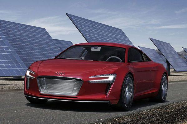 Audi R8 e-Tron : c'est lui