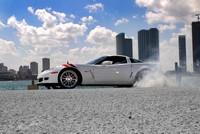 Corvette Z06 blanche, acte 1