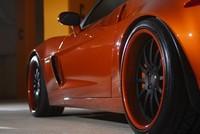 Corvette Z06 orange, acte 2