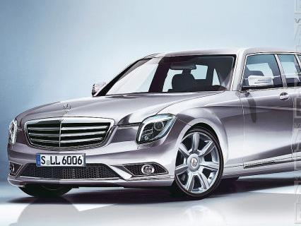 Future Mercedes S600 Pullman: comme ça?